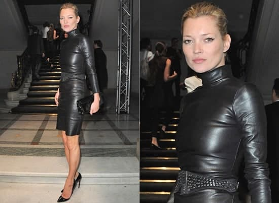 kate moss leather