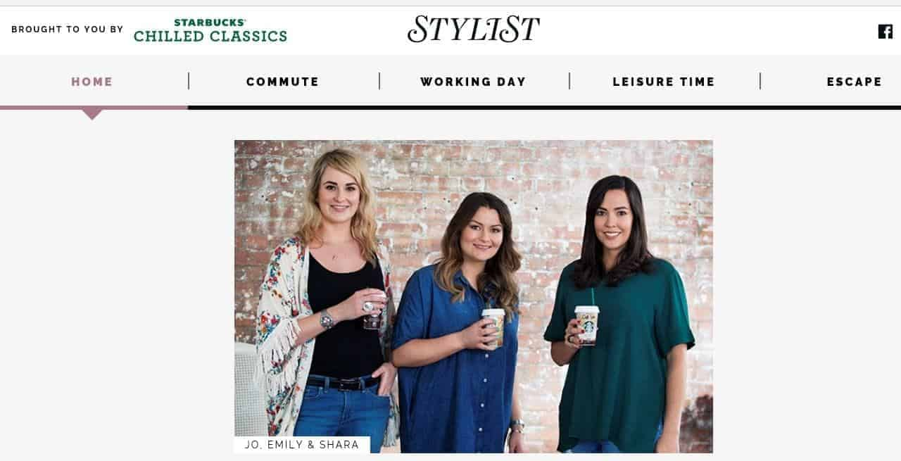 FashionBite's Emily Seares in Stylist magazine