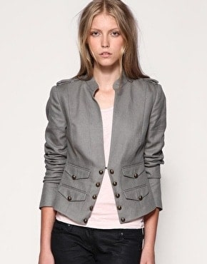Whistles military jacket, a key look for autumn