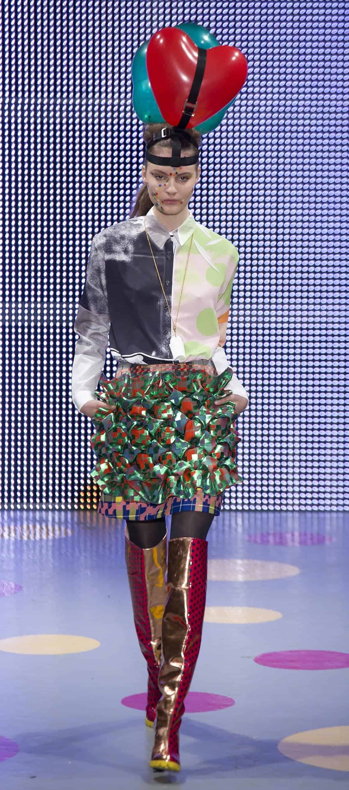 On/Off A/W          picture by Geoff Pugh       19/2/2011Louise Gray