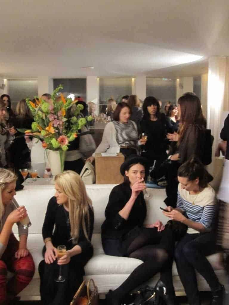 Topshop SS11 make-up launch, The Sanderson Hotel