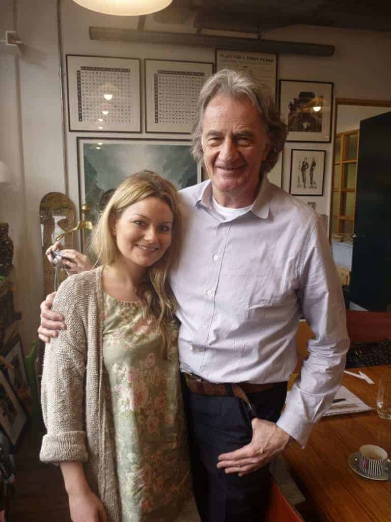 FashionBite's Emily Seares and Paul Smith