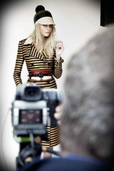 Burberry SS12 Behind the Scenes at FashionBite