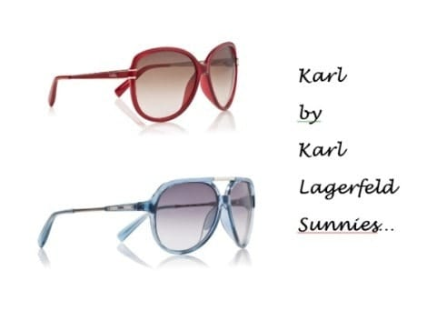 Karl by Karl Lagerfeld sunglasses at FashionBite