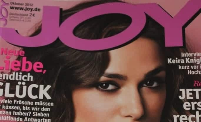 FashionBite editor Emily Seares is interviewed in German fashion magazine JOY