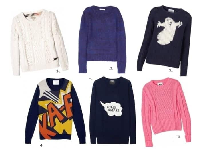 6 knitted jumpers to invest in now, AW12 Style at FashionBite