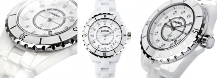 White Chanel J12 Watch, FashionBite