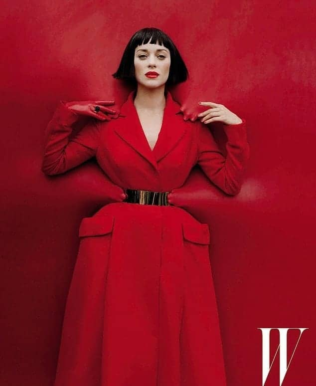 Wow! Marion Cotillard's Takes W Magazine By Feverish Storm FashionBite