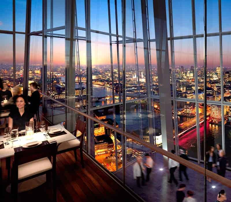 Fashionbite for Restaurants at the shard