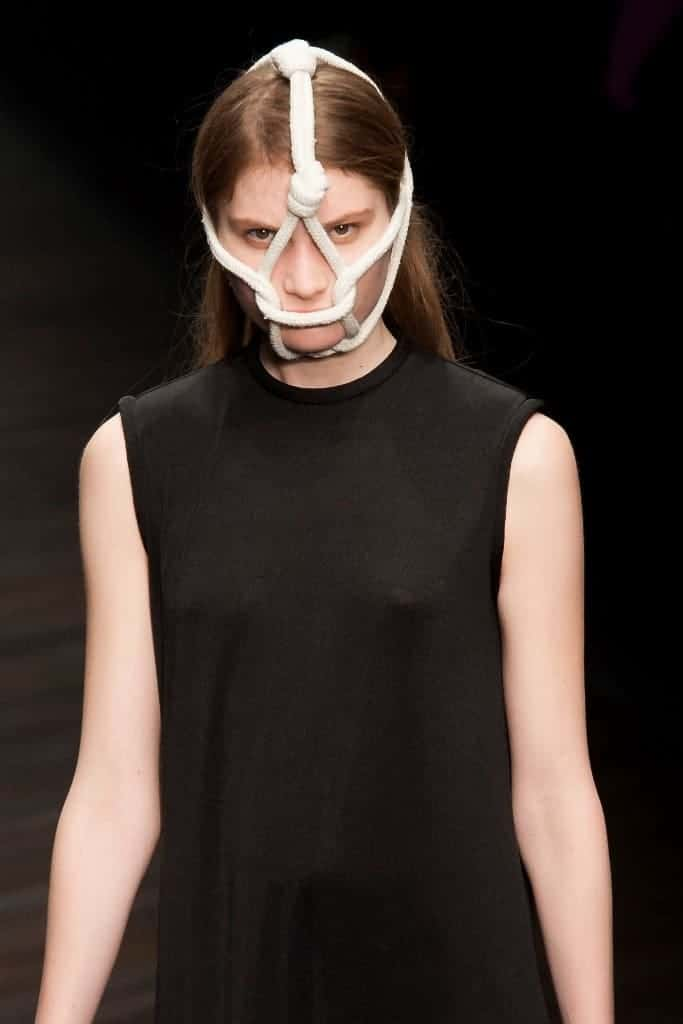 Central St. Martins MA show at London Fashion Week AW13 1