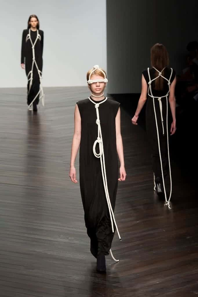 Central St. Martins MA show at London Fashion Week AW13 2