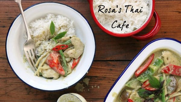 Modern Thai Cuisine At Rosa's Cafe Soho