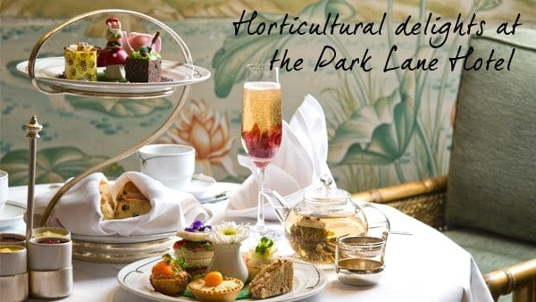 A Flowering Afternoon Tea at the Park Lane Hotel