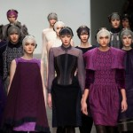 Bora Aksu AW13 At London Fashion Week