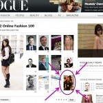 FashionBite's Emily Seares features in VOGUE's 'Online Fashion 100' for 2012!