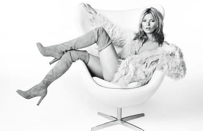 PICS JUST IN: Kate Moss in her latest campaign!