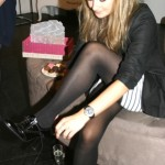Duo's fab leather boots-perfect for autumn