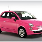 Fiat goes pink for spring