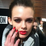 LFW Beauty Report: Gap-Toothed Groupies At Holly Fulton AW13