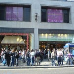 Topshop launches 'secret pop-up shop' in Oxford Circus store