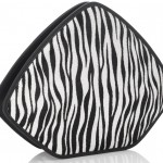 WIN: Stunning Feather M Zebra Clutch (Worth £570)