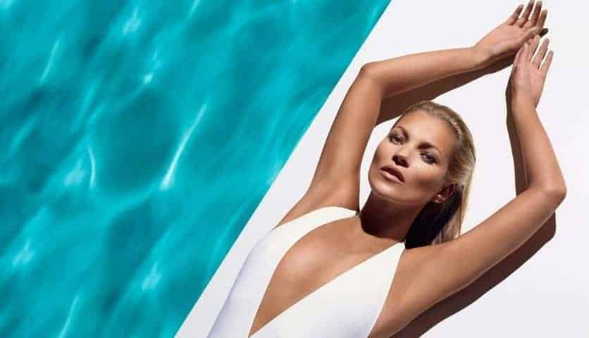 Kate Moss for St.Tropez beind-the-scenes video, FashionBite
