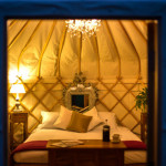 For The Ultimate Quirky Honeymoon: Sshh Yurts
