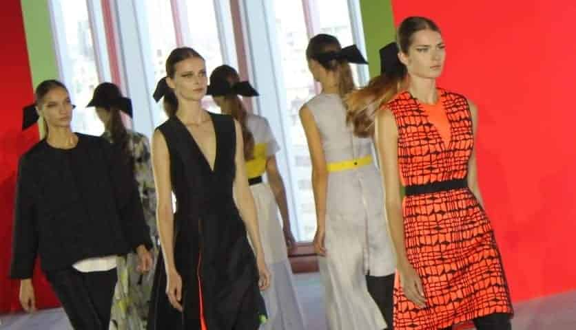 LFW: Fluro Pop At Roksanda Ilincic SS14