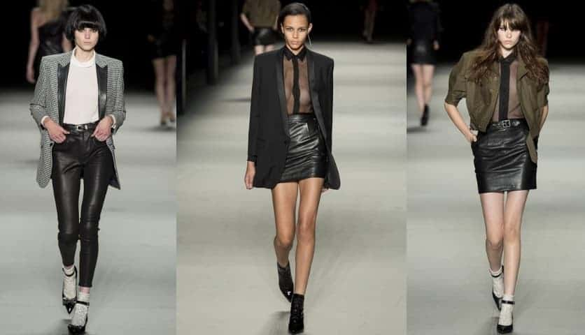 Hedi Slimane Rocks Again At Saint Laurent For SS14