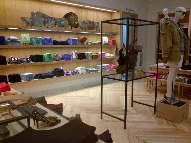 J Crew opens on Regent Street, first look inside at FashionBite.party
