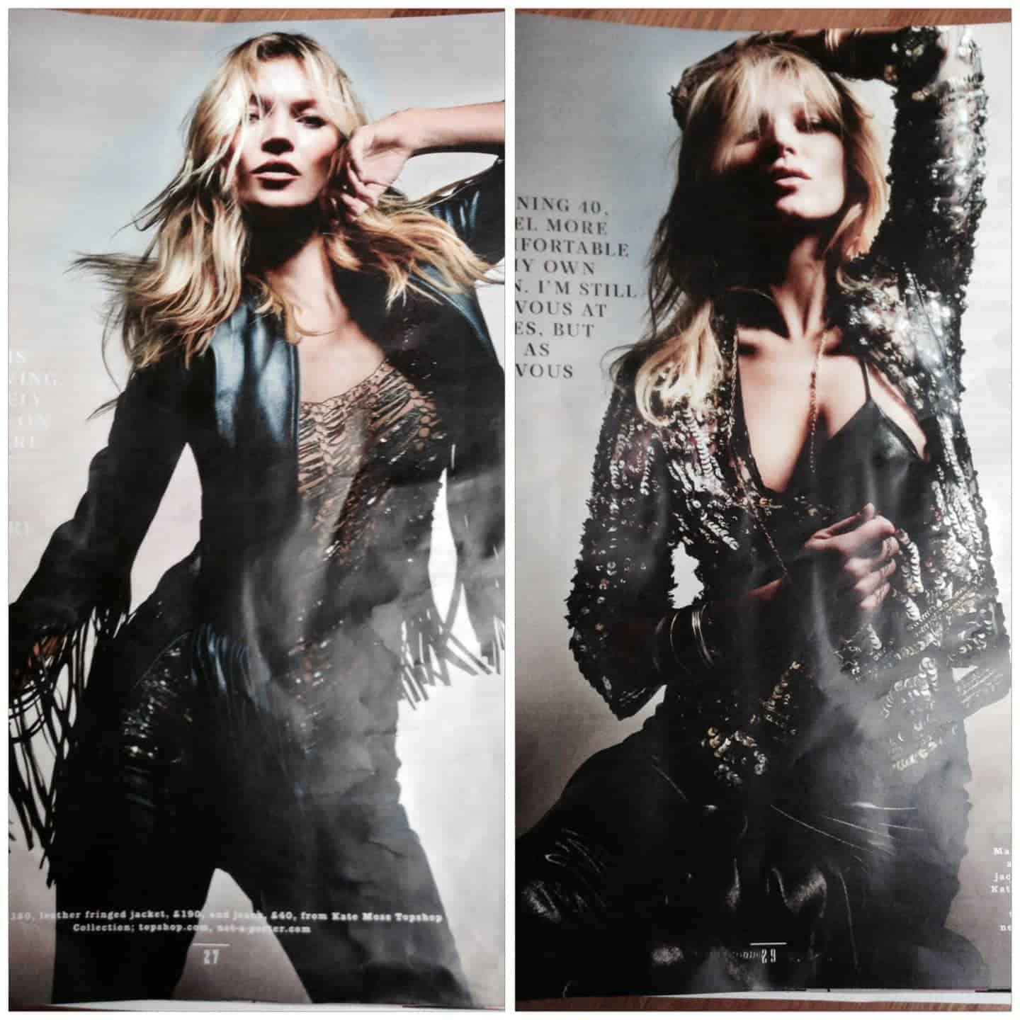 VIDEO: Kate Moss Brings Oxford Street To A Standstill