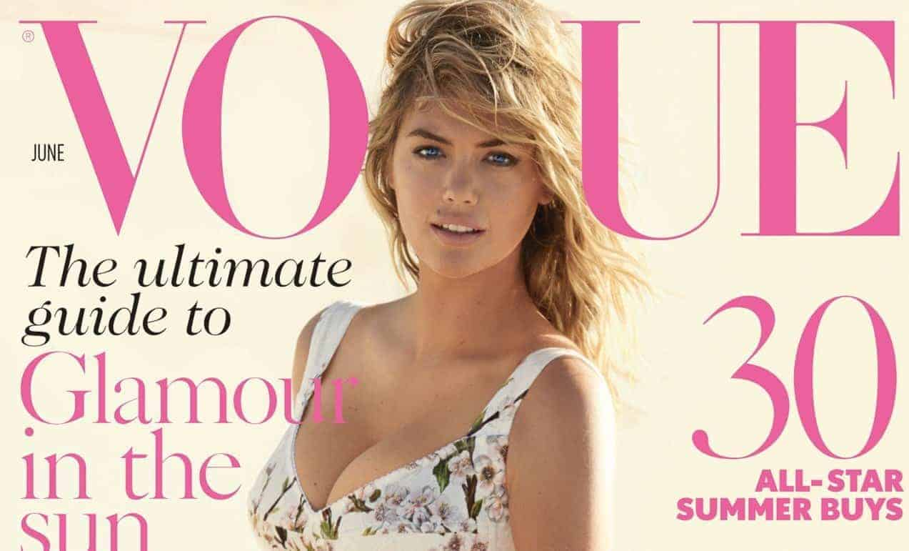 Kate Upton Fronts The June Issue Of Vogue