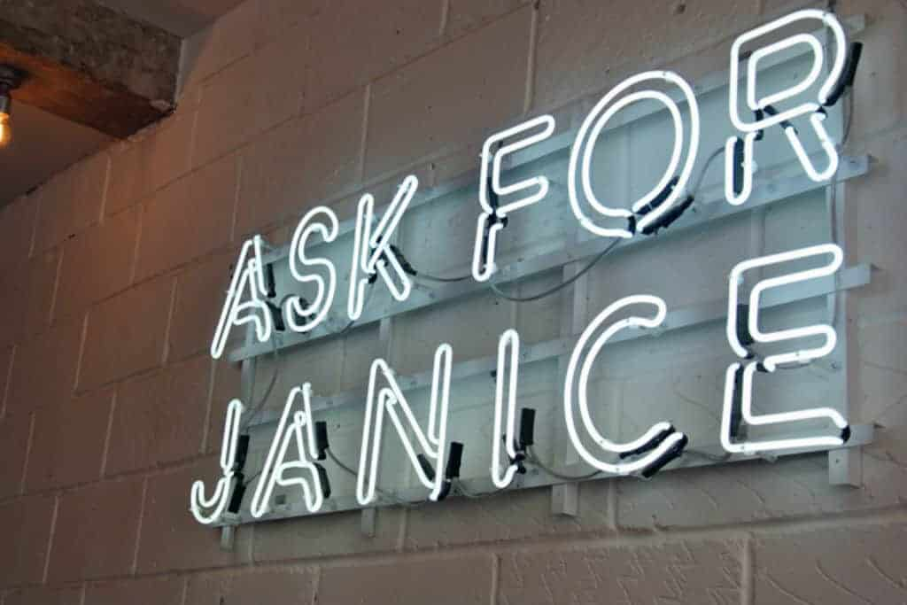 Ask For Janice London