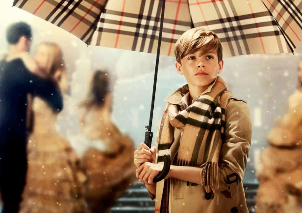 Burberry's Festive Campaign (Starring Romeo Beckham)