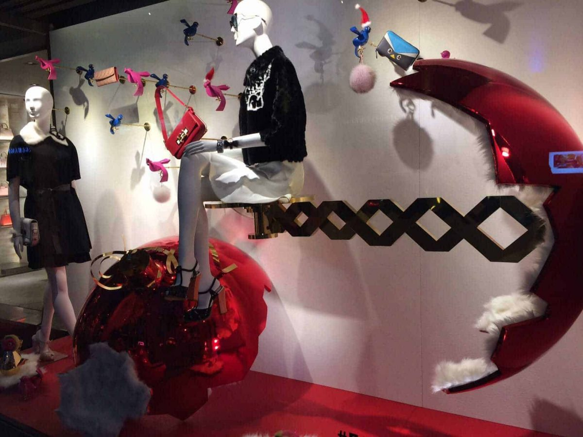 Christmas Windows from the 11 Biggest Fashion Houses
