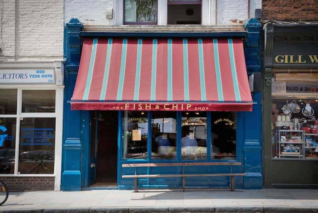 REVIEW: The Fish & Chip Shop, Islington