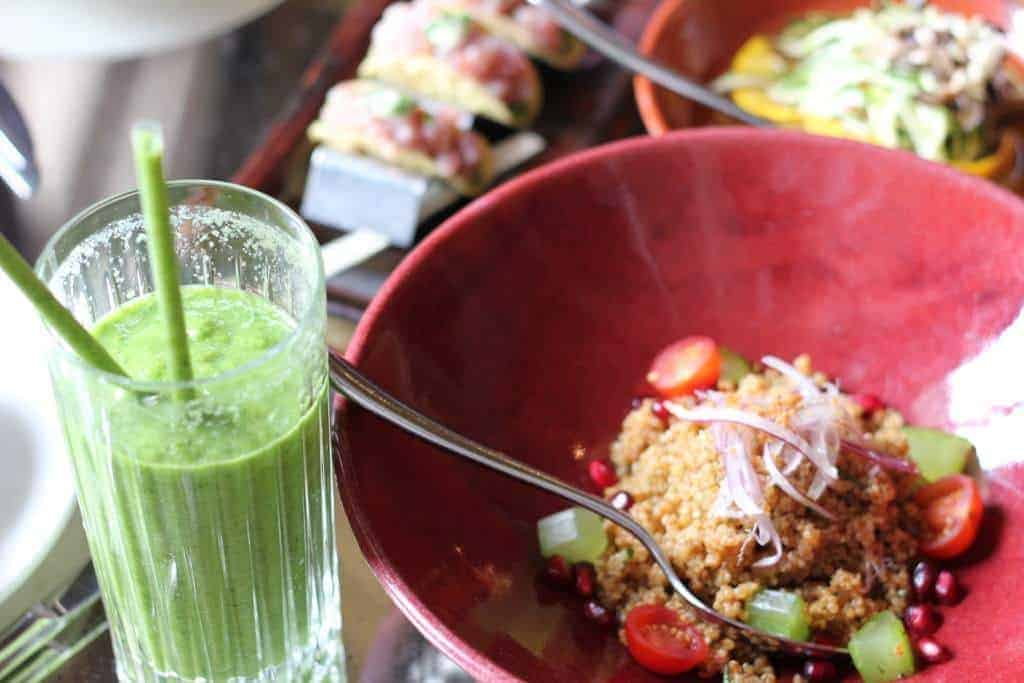 Review: Coya Pervian platters and healthy juices at FashionBite