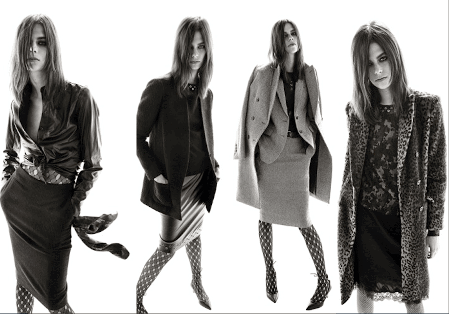 First Look, Carine Roitfeld for Uniqlo launches online, FashionBite