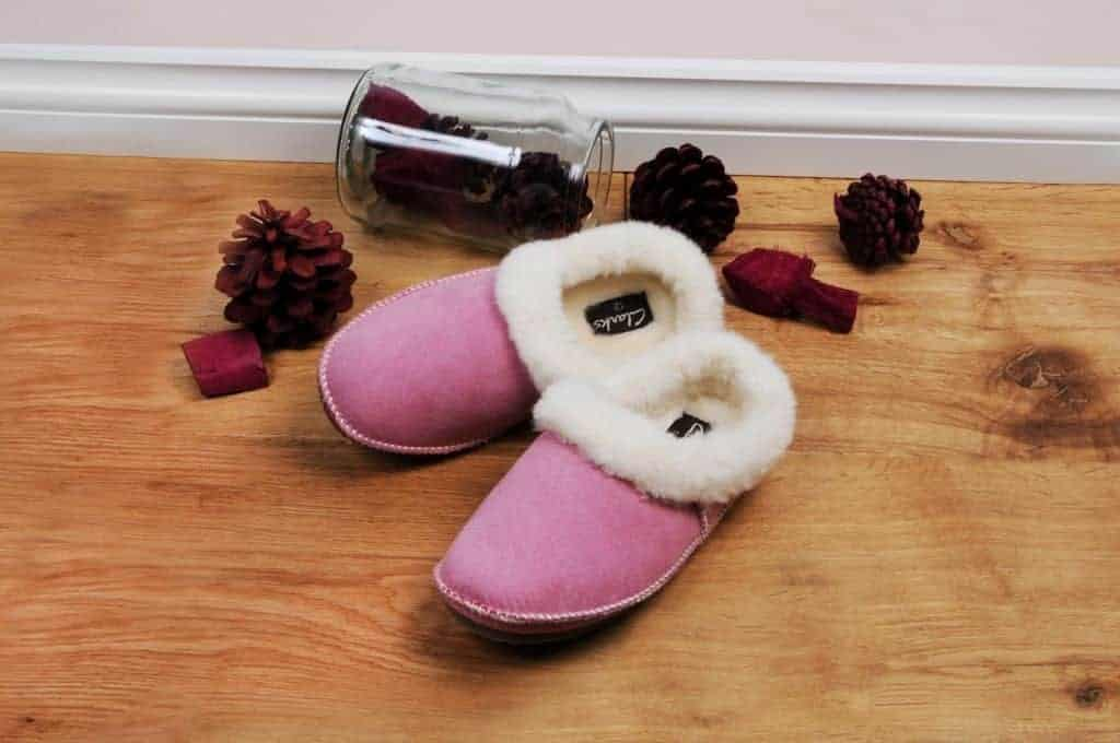 Clarks Loola Fay Girls Junior Slippers