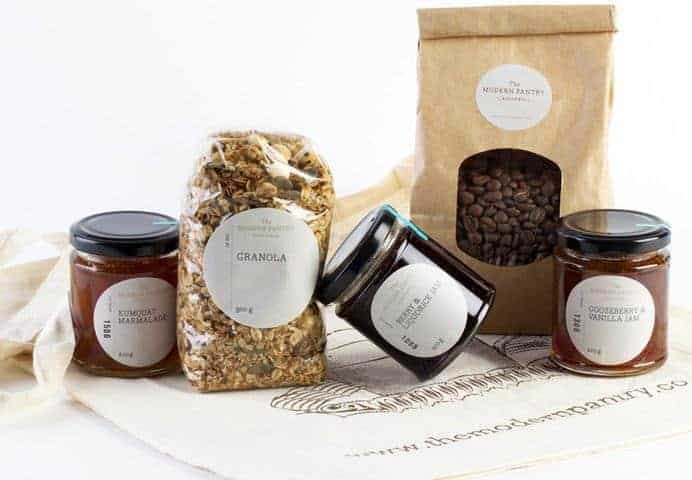 Modern Pantry's breakfast hamper