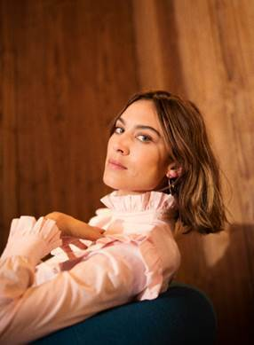 alexa chung M&S collection, FashionBite, 1