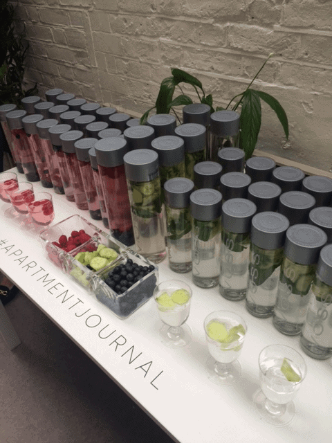 Hydration at London Fashion Week