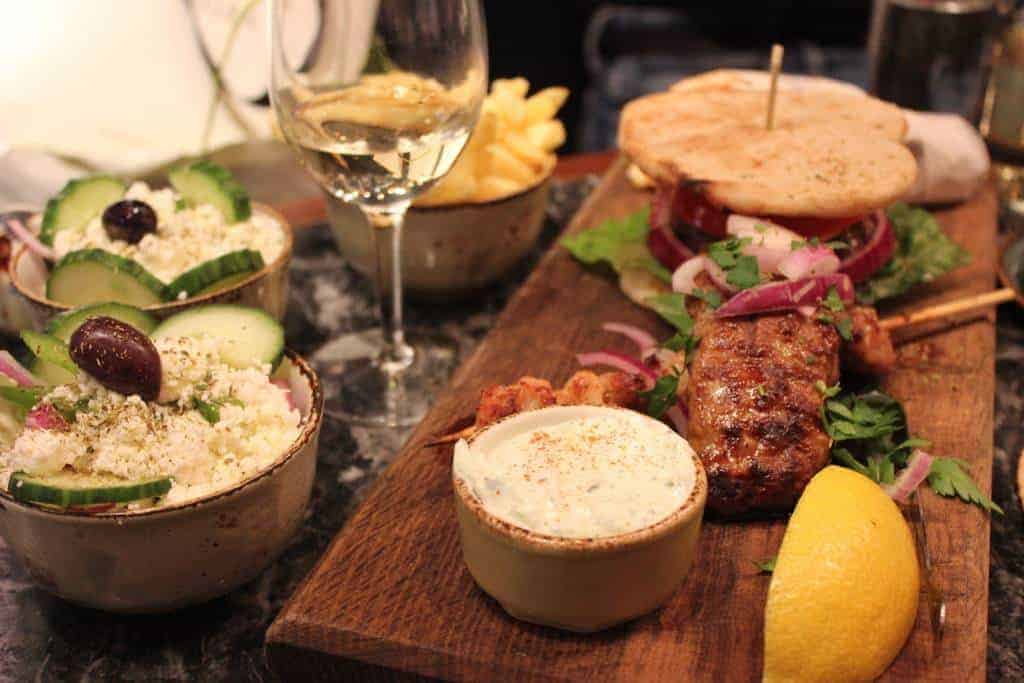 Review of Soho's Suvlaki Greek restaurant