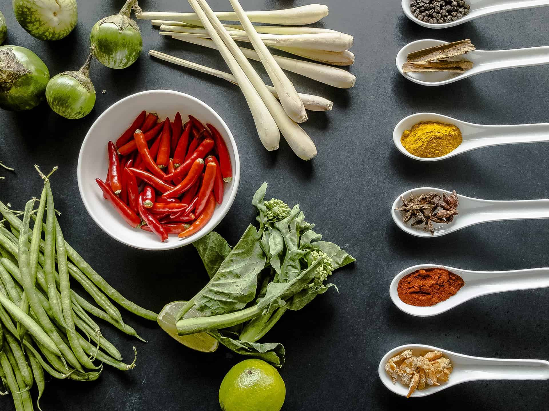 Nipa Thai ingredients