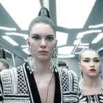 NEW: Watch Balmain x H&M Video Starring Kendall Jenner