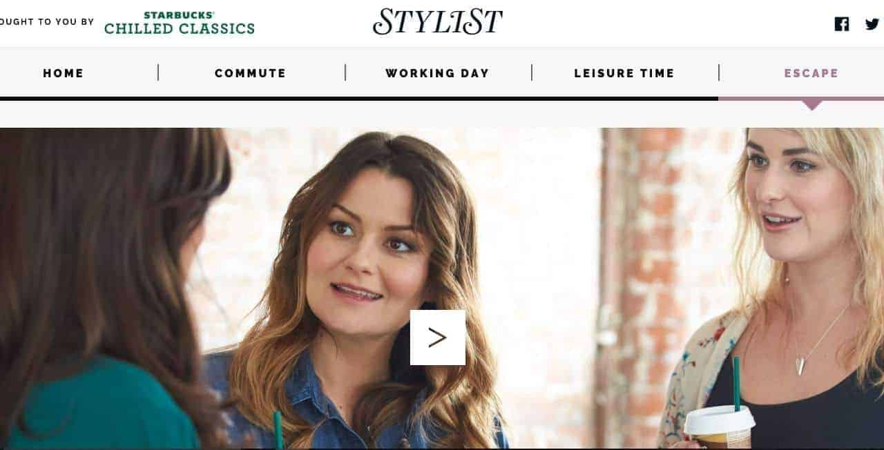 Emily Seares features in Stylist magazine