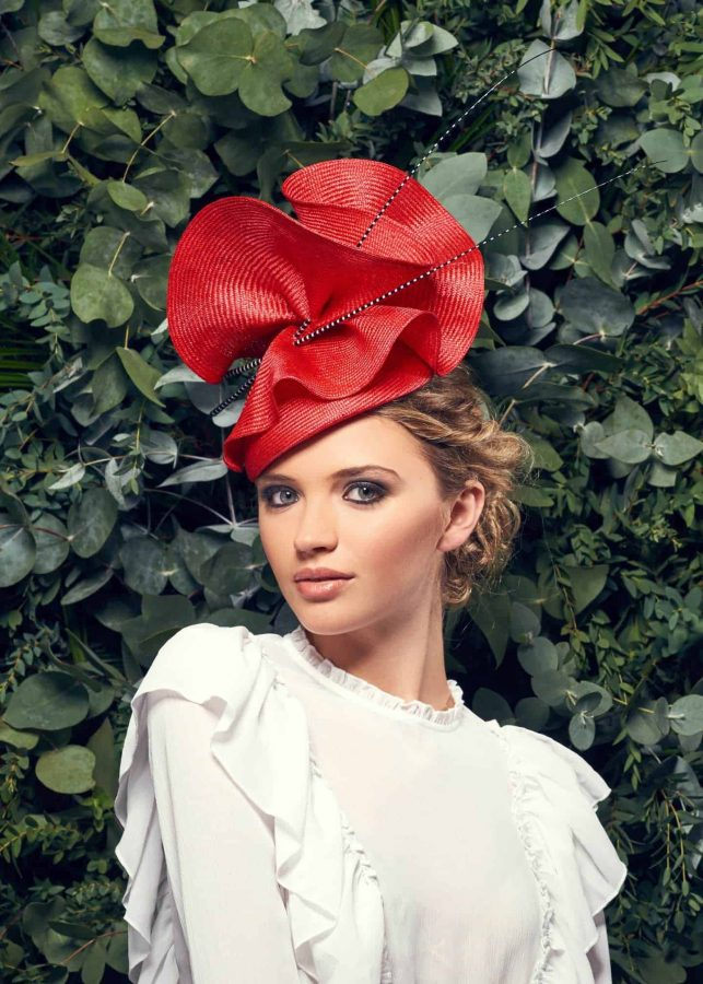 A design by royal milliner Rosie Olivia