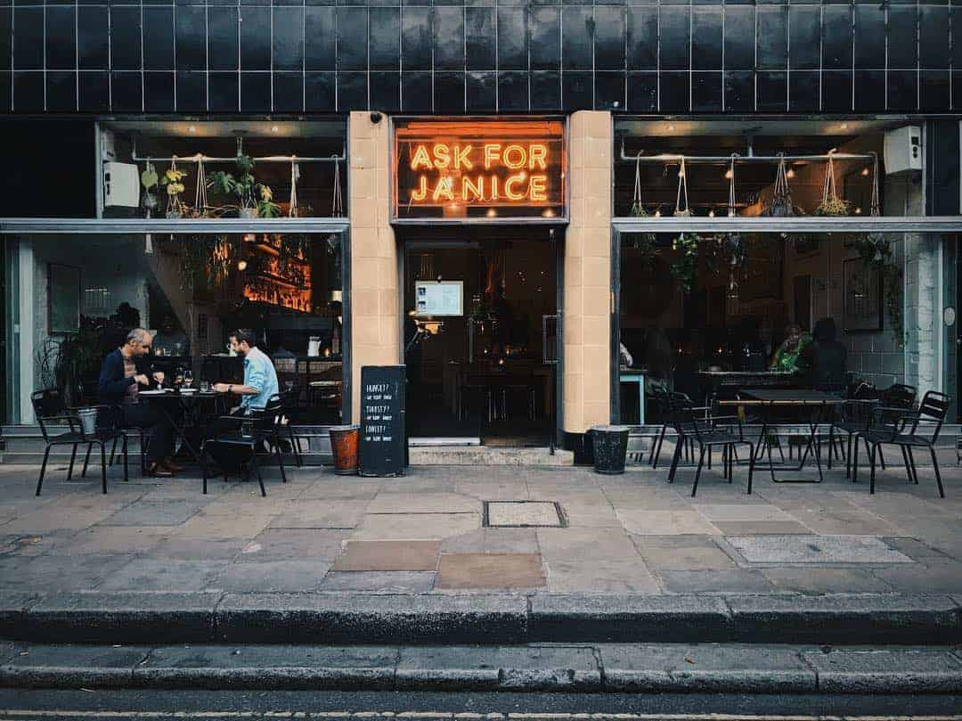 When In Farringdon (And Hungry), Ask For Janice