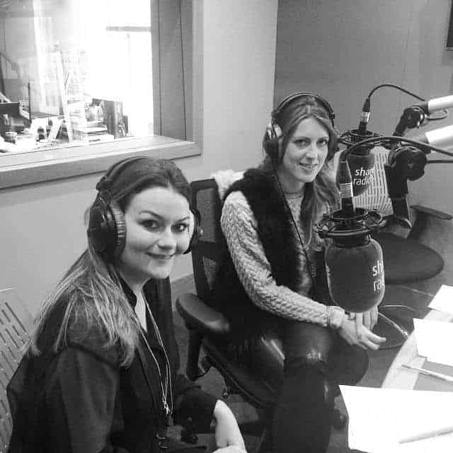 Emily Seares from FashionBite interviewed on Share Radio, 1