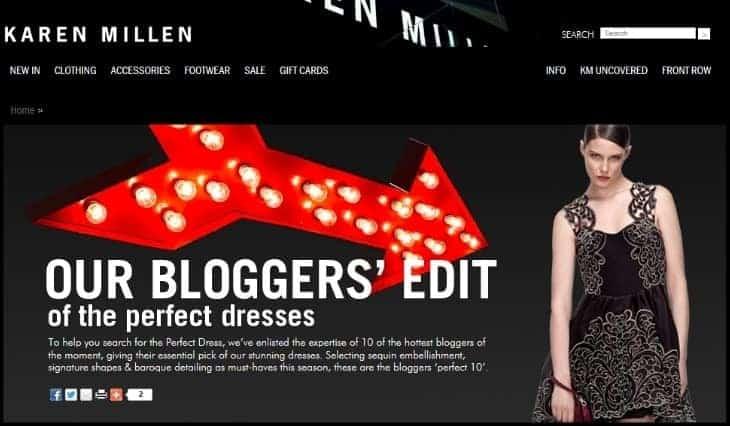 Karen Millen, FashionBite